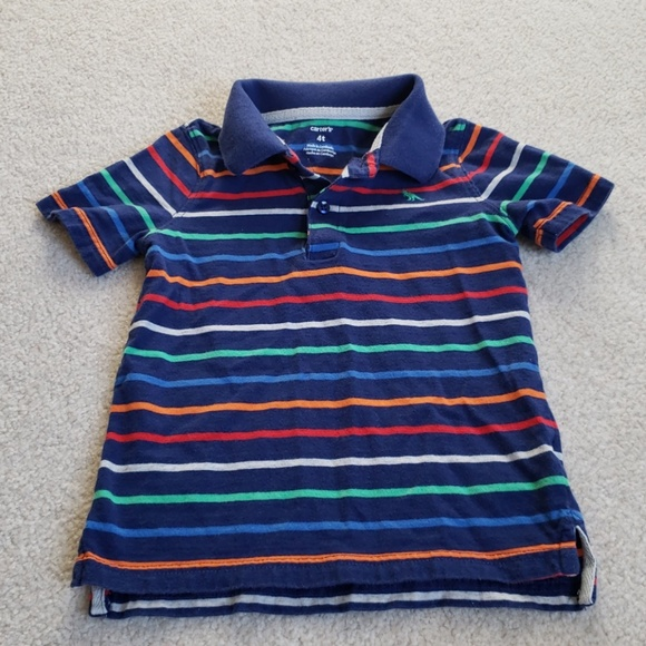 Clothing, Shoes & Accessories CARTER'S BOY'S TODDLER LIGHT BLUE POLO SHIRT NEW SIZE 3T